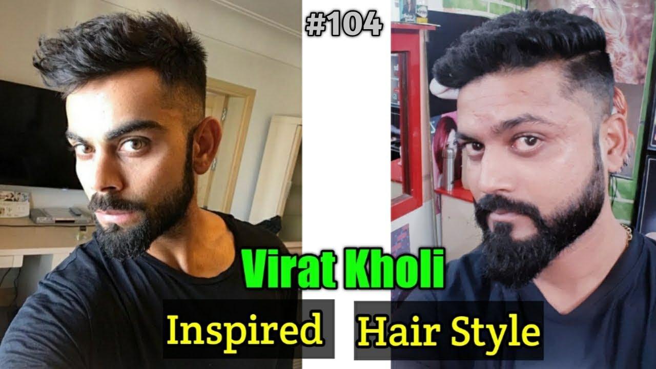 Virat Kohli Hairstyle Inspired Haircut 2019 Men S Hairstyles