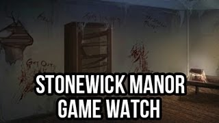 Stonewick Manor (Free PC Horror Game): FreePCGamers Game Watch