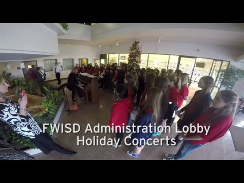 2015 FWISD Administration Lobby Holiday Concert Series: McLean Middle School Choir