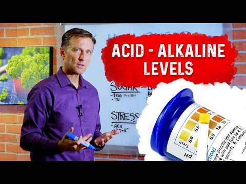 How Sugar and Stress Alter Your pH (acid alkaline levels)