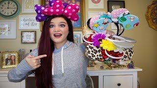 UPDATED MICKEY & MINNIE EAR COLLECTION HAUL