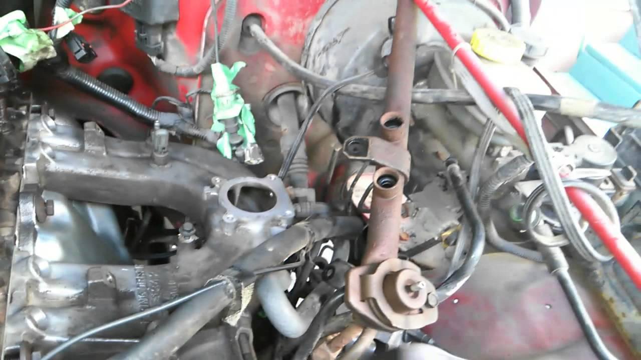 1998 jeep tj 2 5l exhaust manifold installation p3 [ 1280 x 720 Pixel ]