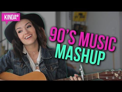 NAT'S 90s MUSIC MASHUP! | KindaTV ft. Natasha Negovanlis
