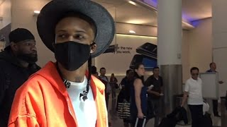 rapper august alsina explains why hes covered his face at lax