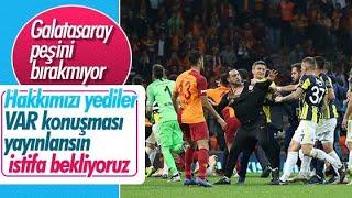 Mustafa Cengiz: TFF'den VAR konuşmalarını istiyoruz  (SICAK GELİŞME)