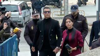 Ronaldo adócsalás miatt a bíróságon
