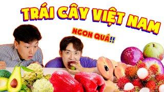 Người Hàn ăn thử trái cây Việt mà Hàn Quốc không có!!
