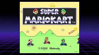 Super Mario Kart - SNES Classic Mini Playthrough - 100cc Mushroom Cup