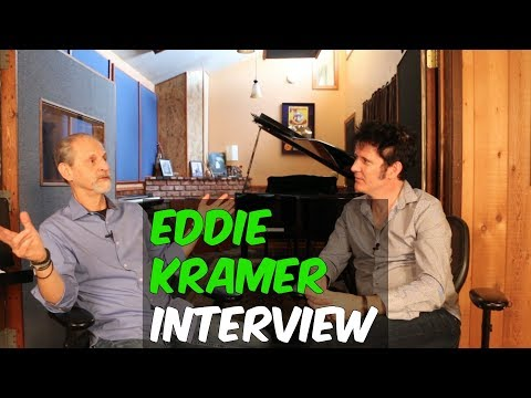 Eddie Kramer Interview (Led Zeppelin, The Rolling Stones, and Jimi Hendrix) - Produce Like A Pro