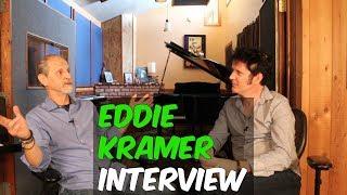 Eddie Kramer Interview (Led Zeppelin, The Rolling Stones, and Jimi Hendrix) - Produce Like A Pro