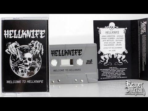 Black Thrash Metal Band | HELLKNIFE 'Welcome To Hellknife' [Full Album]