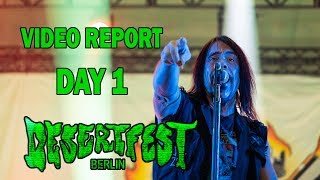 DESERTFEST BERLIN 2018 - DAY 1 (Monster Magnet, Nebula, Death Alley, Church of Misery, ...)