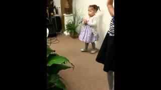 Little Girl Sings Break Every Chain