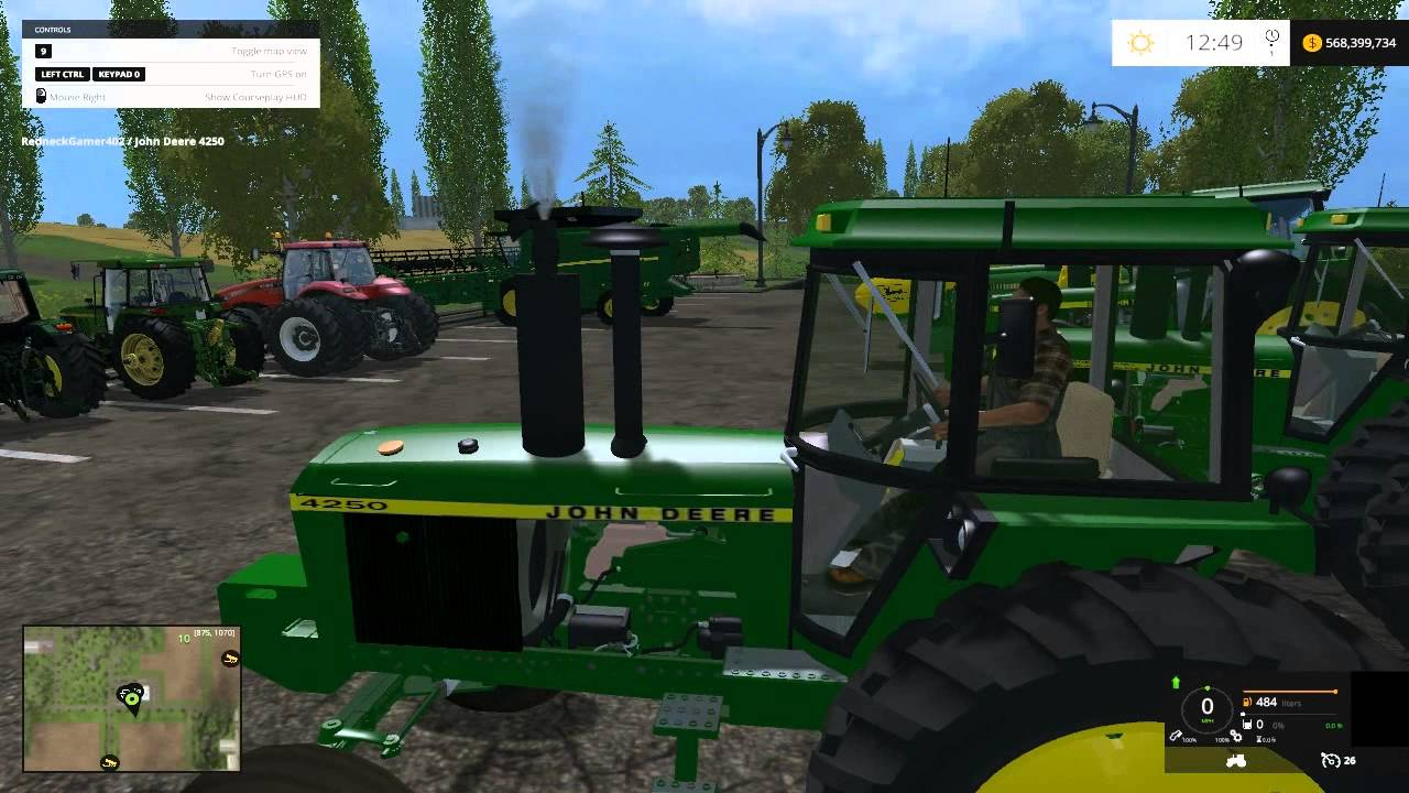 Farming Simulator 15 Mod Spotlight :: John Deere's! - YouTube