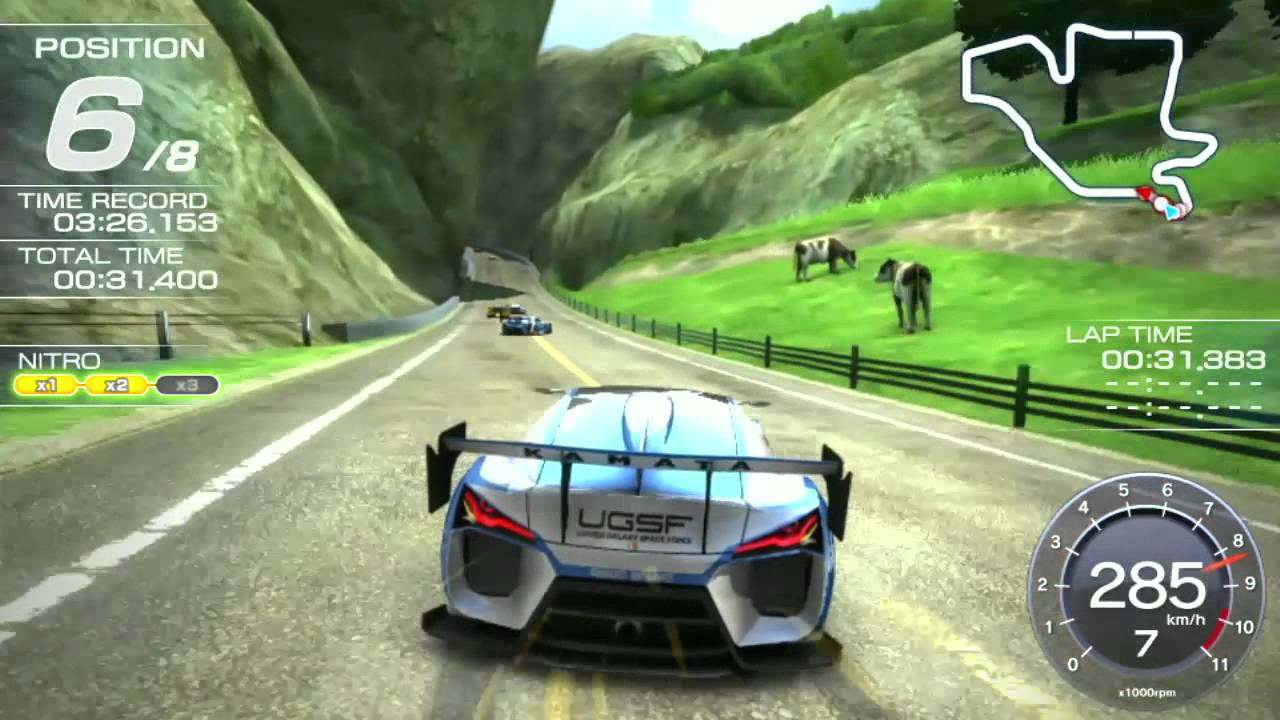 Ridge Racer [PS Vita] \'In-game Footage\' TRUE-HD QUALITY - YouTube