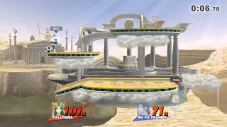Super Smash Bros. Wii U Third Fight: Palutena VS Wii Fit Trainer