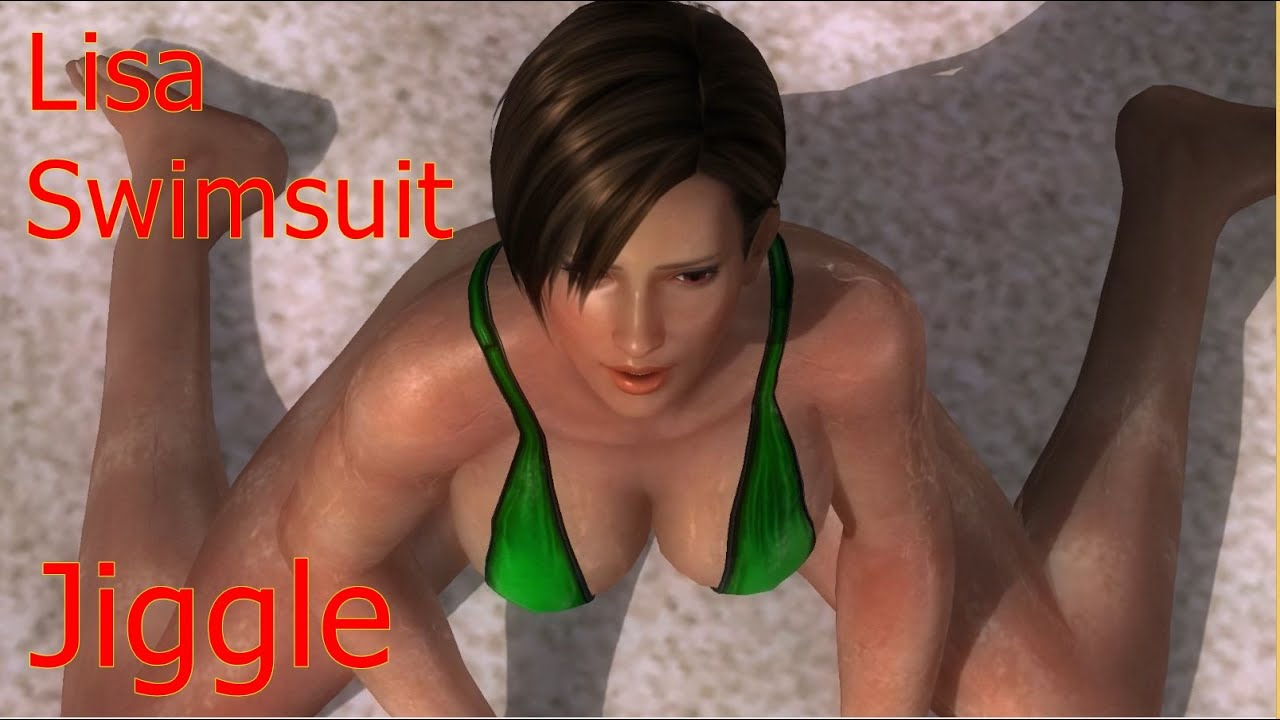 Dead Or Alive 5 Last Round Lisa Green Swimsuit Win Lose -4527