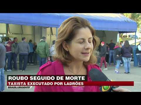 Taxista é executado após assalto em São Paulo