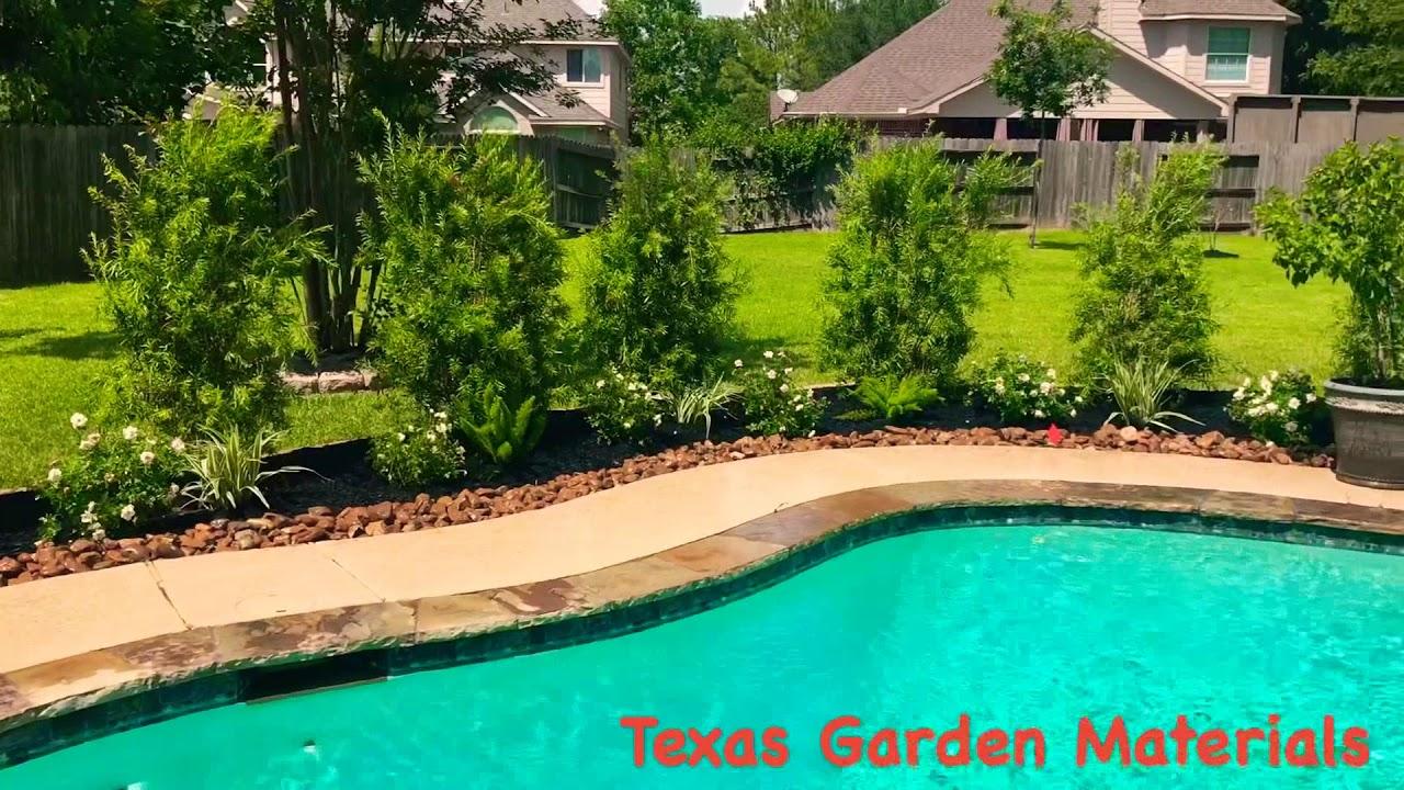 Pool Backyard Landscape   Houston, TX 77407