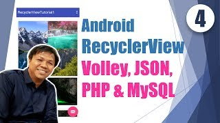 Basics of Android App development: RecyclerView #4 with PHP & MySQL