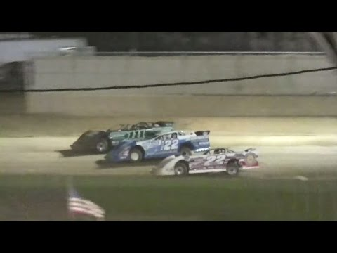 Super Late Model Feature | Little Valley Speedway | 7-17-15