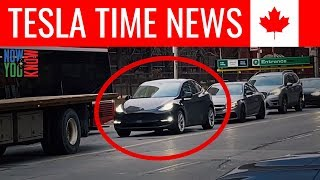 tesla Time News - Model Y Sighted in Canada!