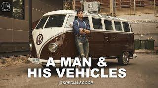 A MAN & HIS VEHICLES: MARIO MAURER