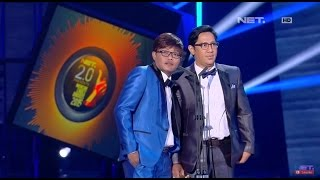 Download video NET 2 0 presents Indonesian Choice Awards 2015 - Male Singer of the year