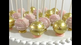 cake pop decorating tutorial