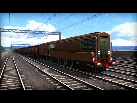 Train Simulator 2015 Gameplay - BR GT3 Turbine Loco Preview