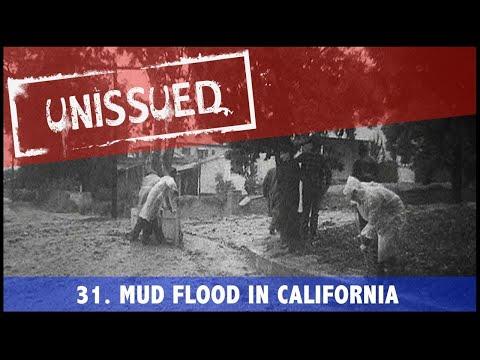 Unissued Nº31 - Mud Flood In California (1954)