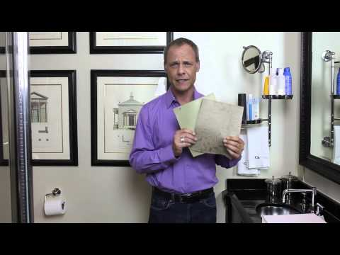 How to Choose Bathroom Wallpaper : Bathroom Decor