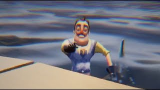 Hello Neighbor - THE NEIGHBOR vs SHARK