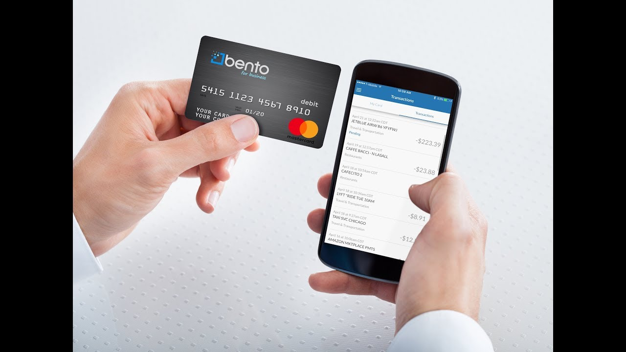bento for business business prepaid debit card introduction
