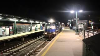 MNR/AAR Track Loading Vehicle Train on the Hudson Line