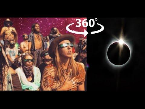 Total Eclipse 360° VR @ Symbiosis Oregon Eclipse Festival 2017