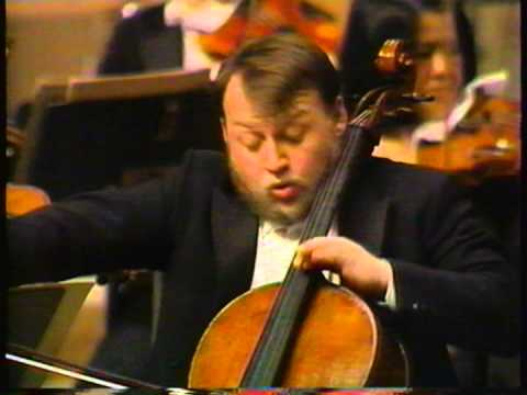 Haydn Cello concerto No.2 mov.I ,Cello: Heinrich Schiff, Conductor: Horst Stein