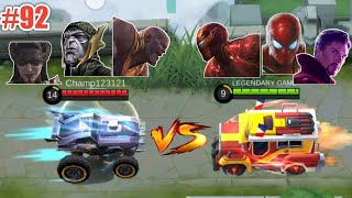 WTF Mobile Legends Funny Moments Episode 92 | Thanos Johnson Vs Ironman Johnson 😂😂😂 + Giveaway