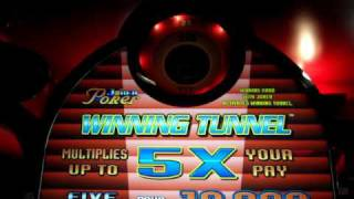 【メダルゲーム】 WINNING TUNNEL JOKER POKER FIVE ACES