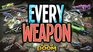 Every Weapon in Guns of Boom*one video*