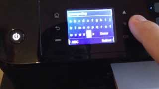 Connecting an envy printer to your wifi