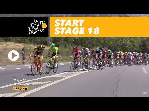 Start - Stage 18 - Tour de France 2017