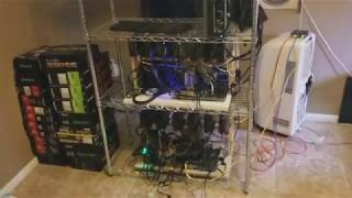 Setting up cheap hobby miner 171 MH/s per rig