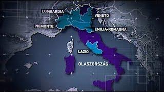 Koronavírus: Már Szicíliában is tudnak fertőzöttről