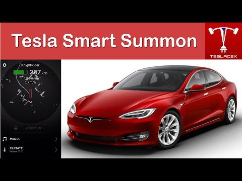#140 Tesla Smart Summon | Teslacek