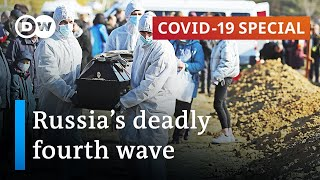 Russia sees record numbers of coronavirus deaths