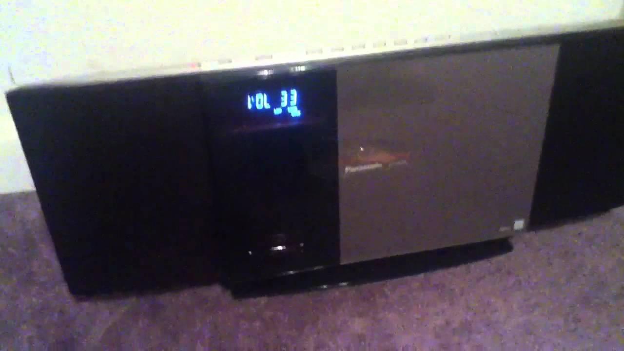 Panasonic Sc Hc30 Radio Stereo Youtube