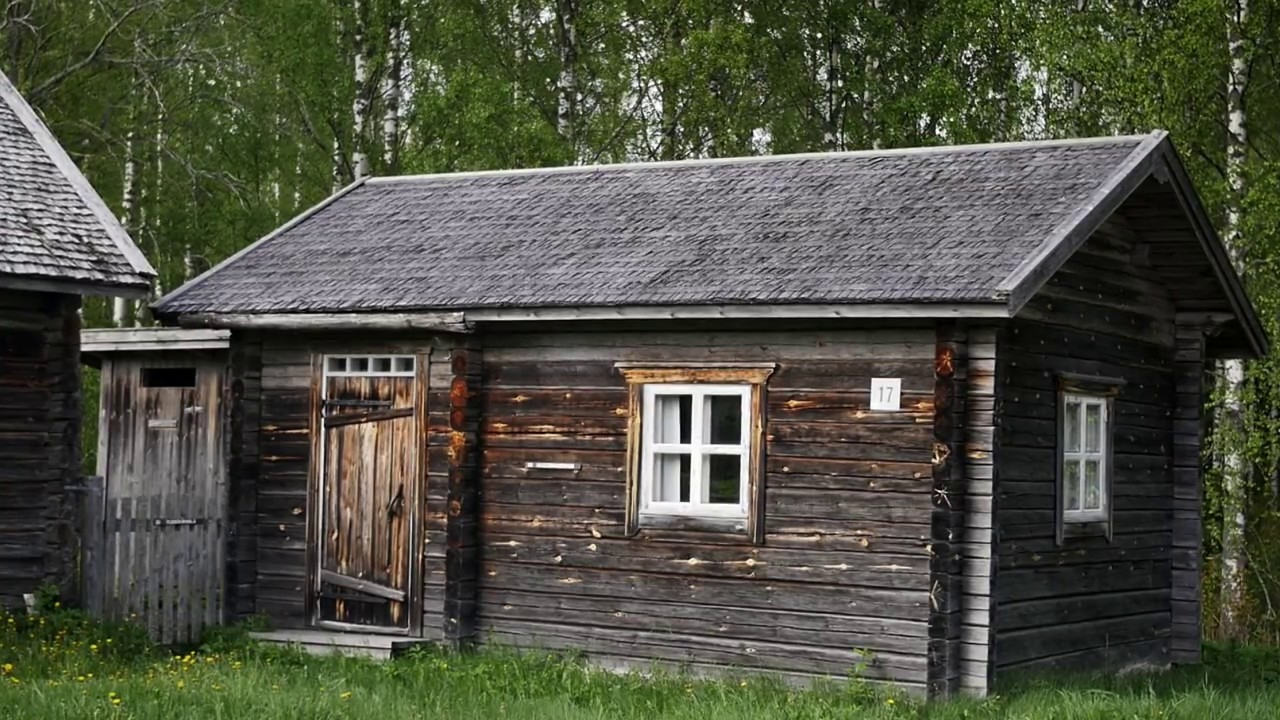 traditional finnish log house 1988 and the same house 2017 - youtube