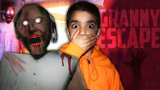 5 YEAR OLD LITTLE BROTHER PLAYS GRANNY FOR THE FIRST TIME! | KID PLAYS 5 DAYS OF GRANNY HORROR GAME