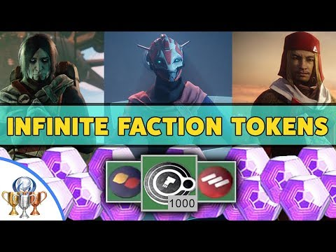 Destiny 2 Faction Rally - How to Get Infinite FACTION TOKENS & Legendary ENGRAMS Quickly
